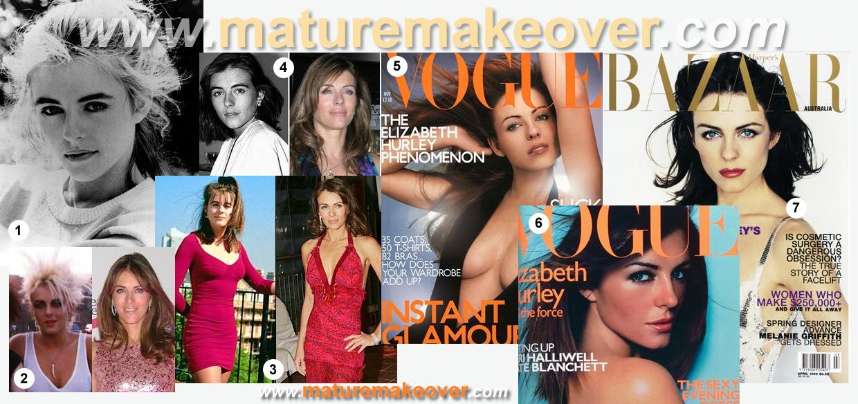 makeover, makeover elizabeth hurley, makeover liz hurley, makeovers, celebrity makeover